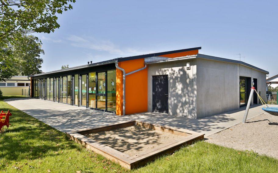 Neubau einer zweigruppigen Kinderkrippe in Weißenhorn