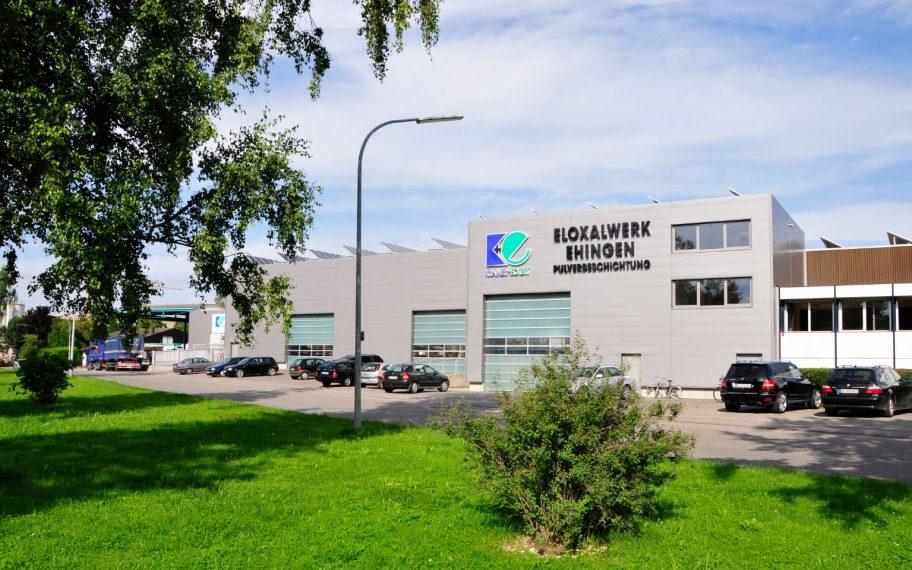 Neubau einer Produktions- und Lagerhalle in Ehingen